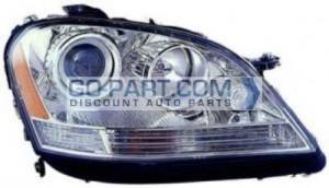 2006-2007 Mercedes Benz ML350 Headlight Assembly - Right (Passenger)