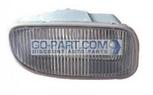 2002-2003 Jeep Grand Cherokee Fog Light Lamp - Left (Driver)