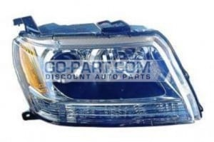 2009-2009 Suzuki Vitara / Grand Vitara Headlight Assembly - Right (Passenger)