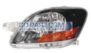 2008-2010 Toyota Yaris Headlight Assembly (S Model / Sedan) - Left (Driver)