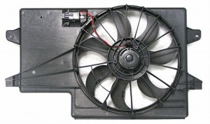 2008-2009 Ford Focus Radiator Cooling Fan Assembly