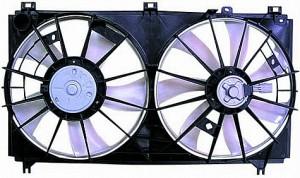 2006-2009 Lexus IS250 Radiator Cooling Fan Assembly