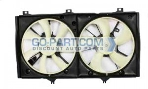 2007-2010 Toyota Camry Hybrid Radiator Cooling Fan Assembly