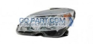 2007-2007 Mercedes Benz C350 Headlight Assembly - Left (Driver)
