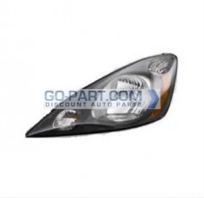 2009-2010 Honda Fit Headlight Assembly (Base / DX / LX) - Left (Driver)