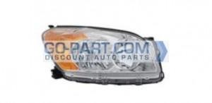 2009-2010 Toyota RAV4 Headlight Assembly (Base / Limited) - Right (Passenger)