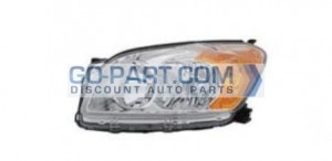 2009-2010 Toyota RAV4 Headlight Assembly (Base Limited) - Left (Driver)