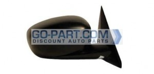 2006-2010 Dodge Charger Side View Mirror (Power / without Heat / Non-Folding / Black) - Right (Passenger)