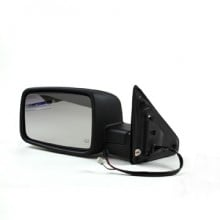 2009-2010 Dodge Ram (Full Size) Side View Mirror (R1500 / Heated / with Signal Lamp / with Puddle Lamp / Code XR) - Left (Driver)