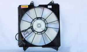 2008-2009 Honda Accord Radiator Cooling Fan Assembly