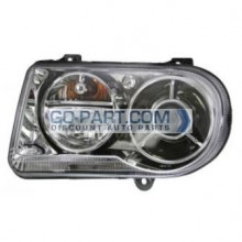 2005-2010 Chrysler 300 / 300C Headlight Assembly - Left (Driver)