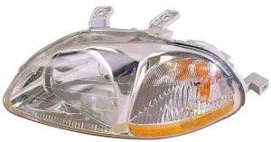 1996-1998 Honda Civic Headlight Assembly - Left (Driver)