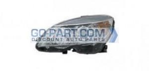 2007-2011 Mercedes Benz C350 Headlight Assembly - Left (Driver)