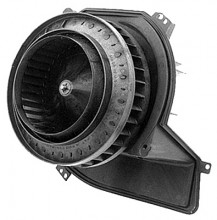 2002-2002 Cadillac Deville AC A/C Heater Blower Motor  (with Black Plastic Housing)