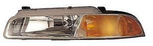 1995-1996 Plymouth Breeze Headlight Assembly (with Improved Beam Pattern) - Left (Driver)