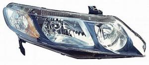 2009-2010 Honda Civic Headlight Assembly - Right (Passenger)