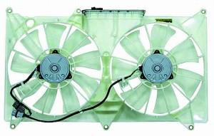 1998-2000 Lexus GS300 Radiator Cooling Fan Assembly