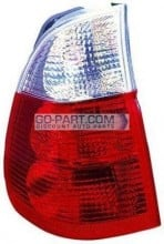 2004-2006 BMW X5 Tail Light Rear Lamp (On Body / with White Turn Indicator) - Left (Driver)