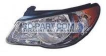 2010-2010 Hyundai Elantra Headlight Assembly - Left (Driver)