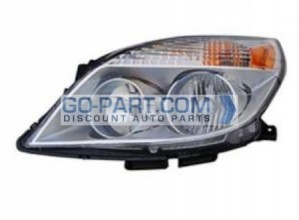 2008-2010 Saturn Aura Headlight Assembly - Left (Driver)