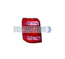 2008-2010 Ford Escape Hybrid Tail Light Rear Lamp - Left (Driver)