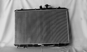 2008-2010 Toyota Highlander Radiator (With Tow Package)