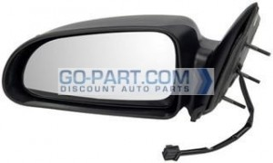 2004-2007 Dodge Durango Side View Mirror - Left (Driver)