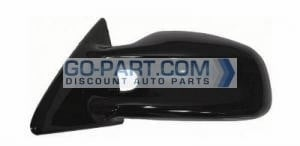 1999-2002 Pontiac Grand Am Side View Mirror (GT / Power Remote / Non-Heated / with Aerodynamic Hole / Prime) - Left (Driver)