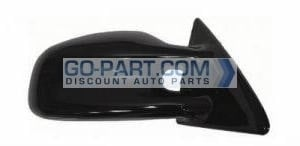 1999-2002 Pontiac Grand Am Side View Mirror (GT / Power Remote / Non-Heated / with Aerodynamic Hole / Prime) - Right (Passenger)