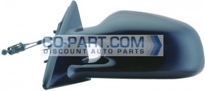 1999-2001 Pontiac Grand Am Side View Mirror - Left (Driver)