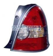 2007-2007 Hyundai Accent Tail Light Rear Lamp - Right (Passenger)