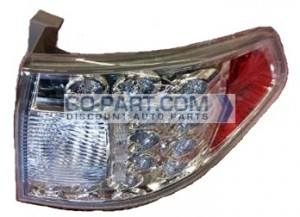 2008-2011 Subaru Impreza Tail Light Rear Lamp (Wagon / On Body) - Right (Passenger)