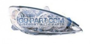 2005-2006 Toyota Camry Headlight Assembly - Right (Passenger)