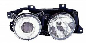 1988-1990 BMW 530i Headlight Assembly - Right (Passenger)