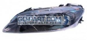 2003-2005 Mazda 6 Mazda6 Headlight Assembly - Left (Driver)