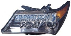 2007-2009 Acura MDX Headlight Assembly (Sport) - Left (Driver)