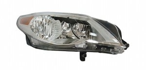 2009-2010 Volkswagen CC Headlight Assembly - Right (Passenger)