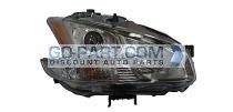 2009-2011 Nissan Maxima Headlight Assembly (Halogen) - Right (Passenger)