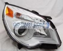 2010-2011 Chevrolet (Chevy) Equinox Headlight Assembly (LTZ) - Right (Passenger)