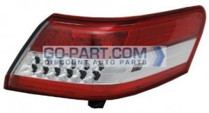 2010-2011 Toyota Camry Tail Light Rear Lamp (For USA Built Models) - Right (Passenger)