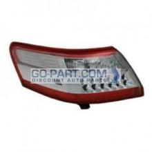 2010-2011 Toyota Camry Hybrid Tail Light Rear Lamp (For Japan Built Models) - Left (Driver)