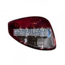 2007-2011 Suzuki SX4 Tail Light Rear Lamp - Left (Driver)