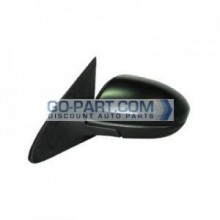 2010-2010 Mazda 3 Mazda3 Side View Mirror (Power Remote / Non-Heated / Without Signal Lamp / With Cover) - Left (Driver)