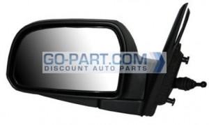 2005-2009 Hyundai Tucson Side View Mirror (Manual) - Left (Driver)