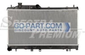 2008-2009 Subaru Impreza Radiator (WRX / Manual)