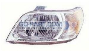 2009-2009 Chevrolet (Chevy) Aveo 5 Headlight Assembly - Left (Driver)