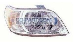 2009-2009 Chevrolet (Chevy) Aveo 5 Headlight Assembly - Right (Passenger)