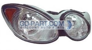 2008-2009 Buick LaCrosse Headlight Assembly - Right (Passenger)