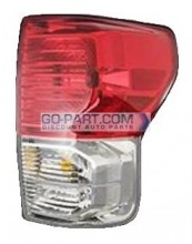 2010-2011 Toyota Tundra Pickup Tail Light Rear Lamp - Right (Passenger)