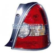 2008-2011 Hyundai Accent Tail Light Rear Lamp - Right (Passenger)